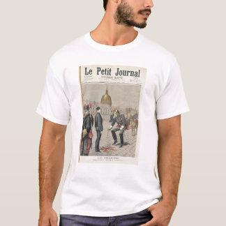 T-shirt Le traître la dégradation d'Alfred Dreyfus