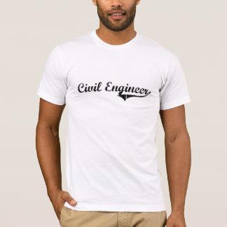 T-shirt Le travail de professionnel d'ingénieur civil