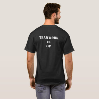 T-shirt Le travail d'équipe de HHOD est OP