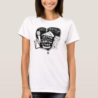 T-shirt Le triathlon T de 2015 femmes (autre dénomme
