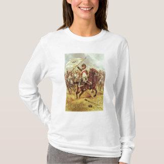 """T-shirt """"Le Trophee"""", 1806, 4ème régiment de dragon, 1898"""