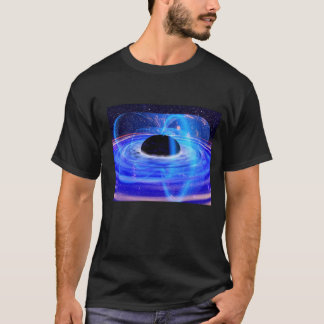 T-shirt Le trou noir bleu de la NASA