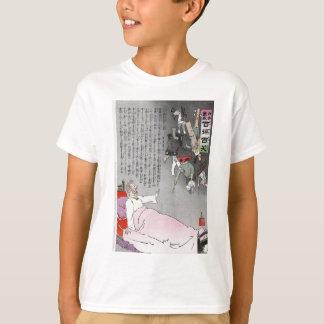 T-shirt Le tsar voit ses forces retourner par Kiyochika