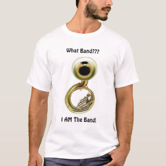 T-shirt Le tuba est la bande