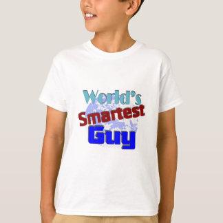 T-shirt Le type le plus futé du monde