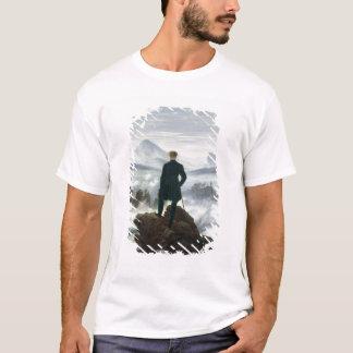T-shirt Le vagabond au-dessus de la mer du brouillard,