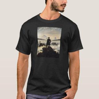 T-shirt Le vagabond au-dessus de la mer du brouillard