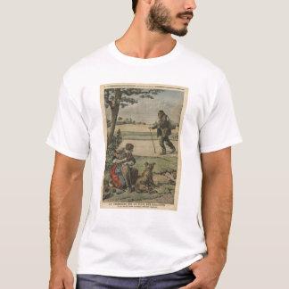 T-shirt Le vagabond est une gêne pour la campagne