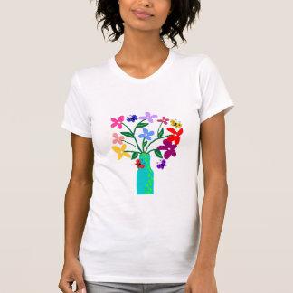 T-shirt Le vase n fleurit la chemise