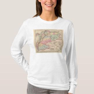 T-shirt Le Venezuela, le nouveau Grenada et l'Equador 2