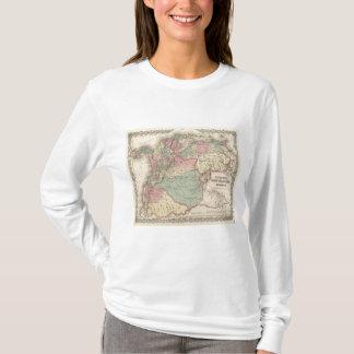 T-shirt Le Venezuela, nouveau Grenade Colombie et