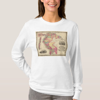 T-shirt Le Venezuela, nouveau Grenade, et l'Equateur