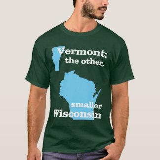 T-shirt Le Vermont : l'autre, le plus petit Wisconsin