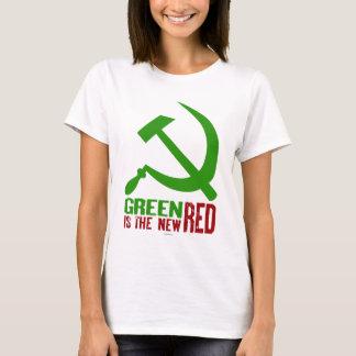 T-shirt Le vert est les nouvelles chemises rouges