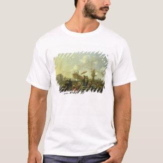 T-shirt Le vieux port de Gênes