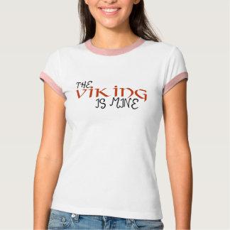 T-shirt le Viking est le mien - lumière