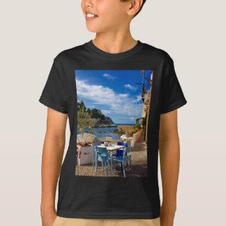 T-shirt Le village de pêche sicilien