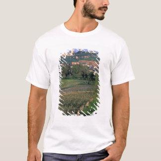 T-shirt Le village de San Gimignano se repose dans le