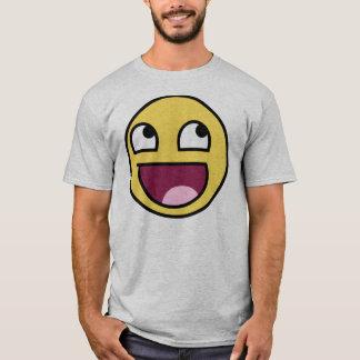 T-shirt le visage épique