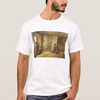 T-shirt Le volant égaré (huile sur la toile)