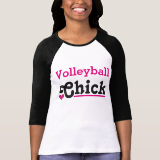 T-shirt Le volley-ball Chick