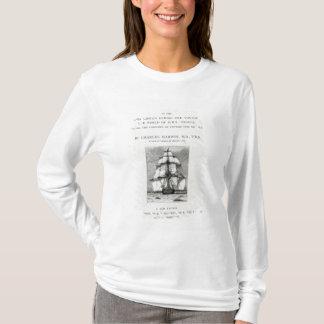 T-shirt Le voyage du beagle