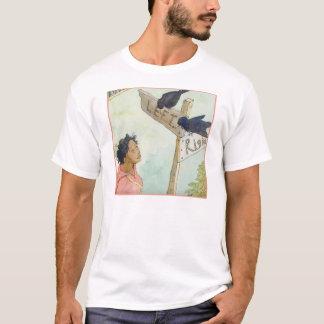 T-shirt Le voyage du poète : Les corbeaux
