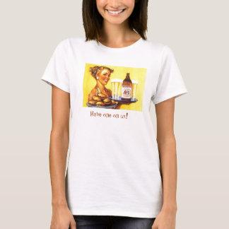T-shirt Le wagon-restaurant de Sandy