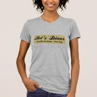 T-shirt Le wagon-restaurant du solénoïde