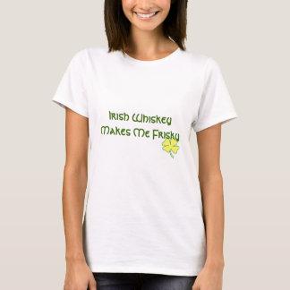 T-shirt Le whiskey irlandais me rend vif