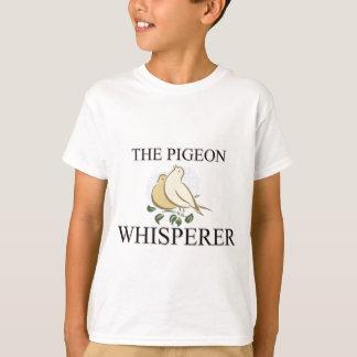 T-shirt Le Whisperer de pigeon