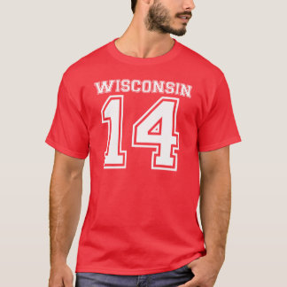 T-shirt Le Wisconsin 14