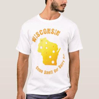 T-shirt Le Wisconsin viennent odeur notre air de laiterie