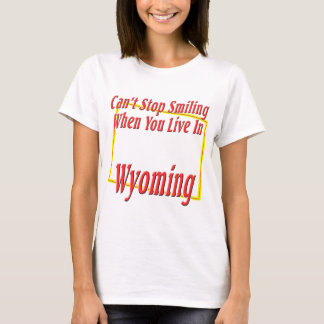 T-shirt Le Wyoming - souriant