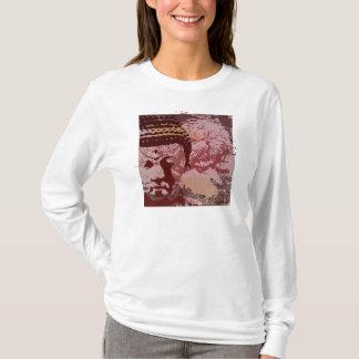 T-shirt Le yoga parlent : Graphique d'arbre de Bouddha