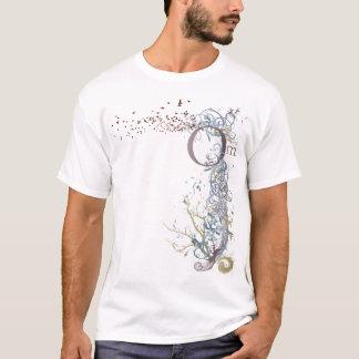T-shirt Le yoga parlent : Le NOUVEL OM piquent