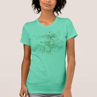 """T-shirt Le yoga parlent : """"Soyez amour : Verdissez Chakra"""