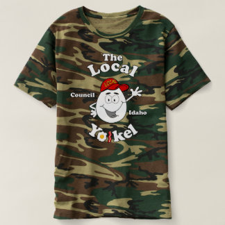 T-shirt Le Yolkel local Camo T
