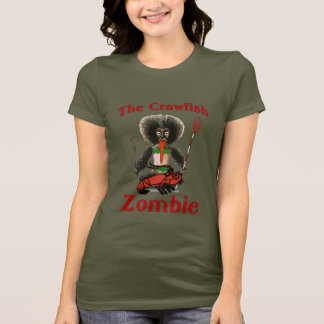 T-shirt Le zombi d'écrevisses