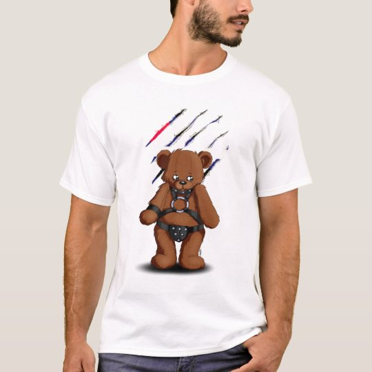 T-shirt Leather Gay bear