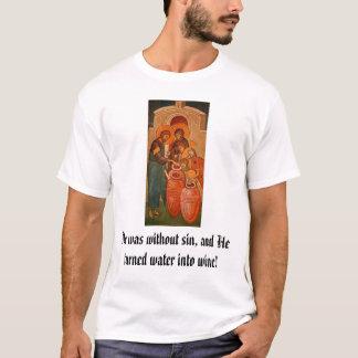 T-shirt L'eau changeante du Christ au vin
