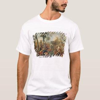 T-shirt L'eau de dessin de Moïse de la roche (huile sur la