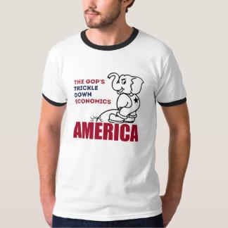 T-shirt L'économie de diffusion de GOP -- Anti-Atout -