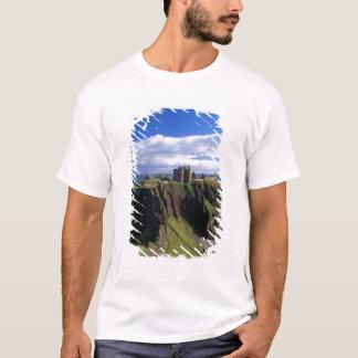 T-shirt L'Ecosse, Aberdeen. Château de Dunnotar