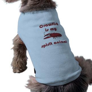 T-shirt L'écrevisse est ma chemise animale d'animal