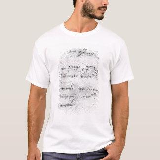 T-shirt L'écriture de Leonardo da Vinci