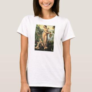 T-shirt Léda et le cygne par Leonardo da Vinci