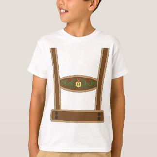 T-shirt Lederhosen de Faux
