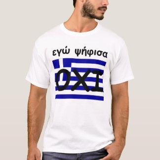 T-shirt Leei OXI de la Grèce
