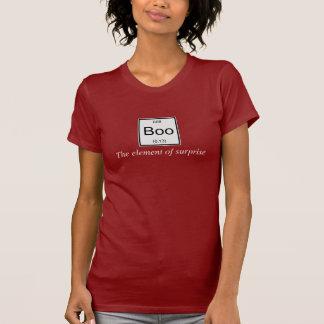 T-shirt L'effet de surprise de table périodique est huent,